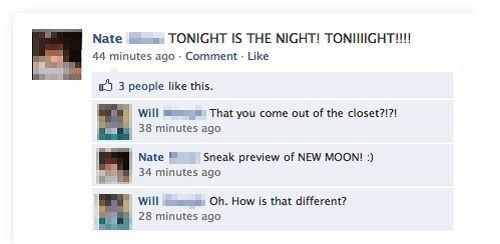 Ooooooooh, burn!. .. mfw new moon