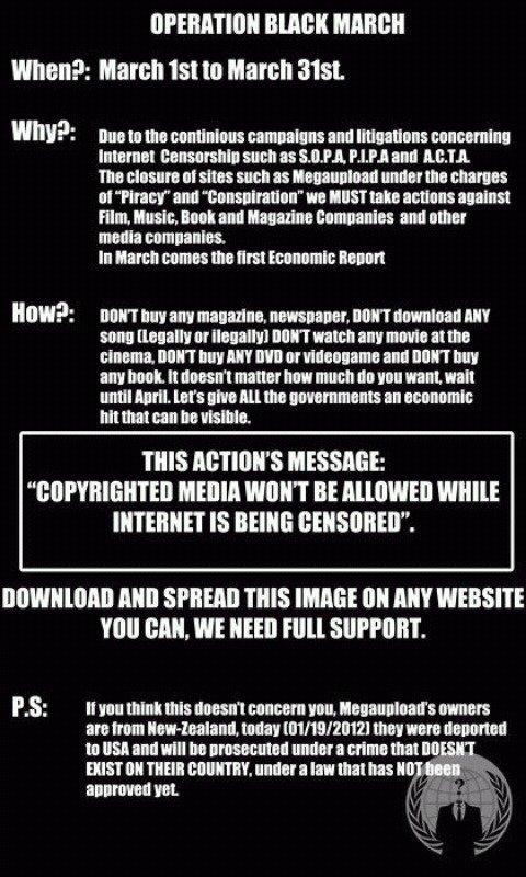 Opération Black March, vive protestation contre l'industrie culturelle et la censure d'internet Operation+Black+March.+I+don+t+do+this+for+pinkies+i_57bfe9_3400747