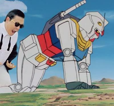 Oppa Gundam style. .
