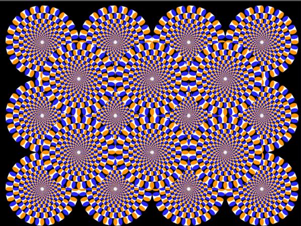 Optical Illussion. Trippy illusion... my mind just threw up wierd optical illussio illussion trick