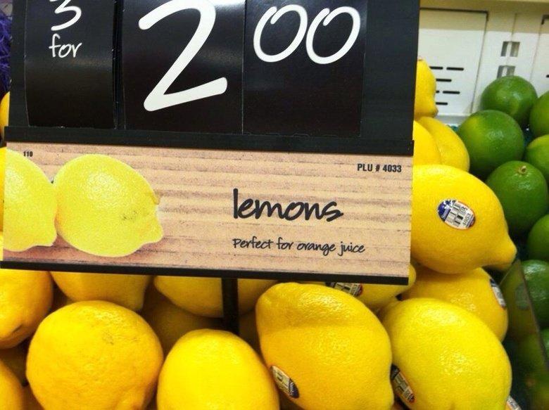 Oranges. .. To sweeten it...?