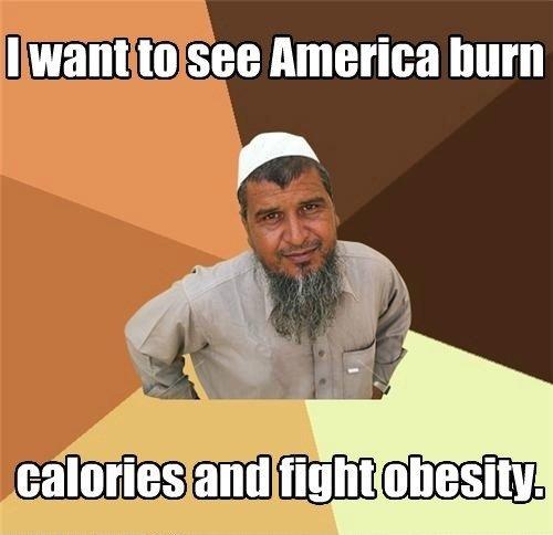 Ordinary Muslim Man. w o r k i t. sit._ America hum