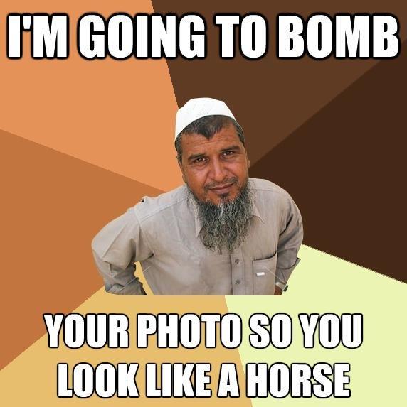 Ordinary Muslim Man. .