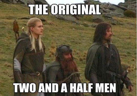 Original. . TIMI] Mill A HALF MEN. Repost = -1 Funny = +2 in conclusion, have a thumb
