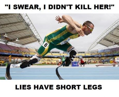 Oscar Pistorius. .