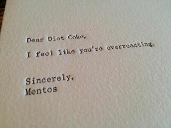 overreacting. XD.