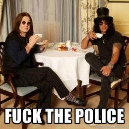 Ozzy and Slash. hmm quite.