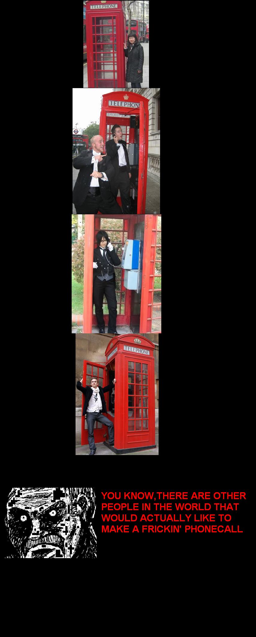 PHOTO!. Poor people.. Al I. Black butler cosplay..