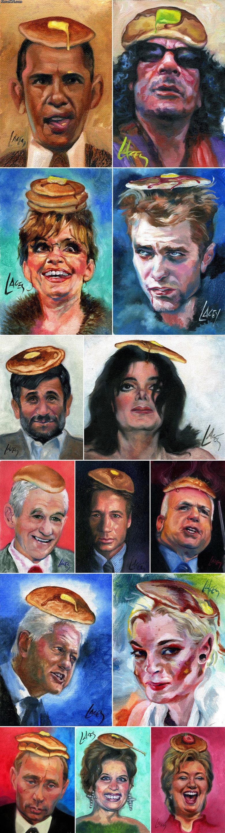 Pancake Art. all of my wut.