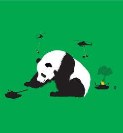 PANDA-MONIUM!. OH MAH LAWD A GIANT PAHNDAH!. Panda Planes pandemonium