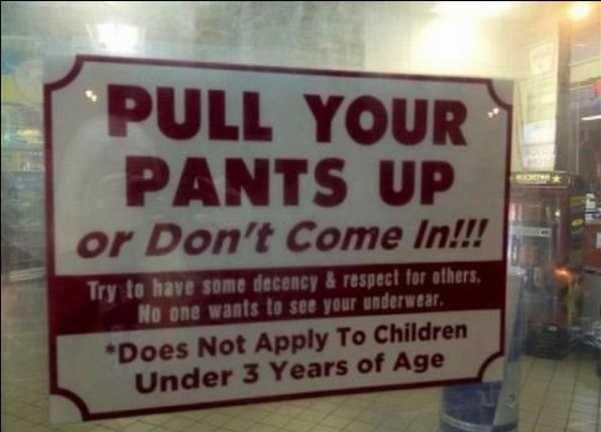 Pants. .. Happy now?