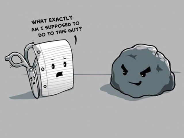 Rock vs paper vs scissors | Spacebattles Forums