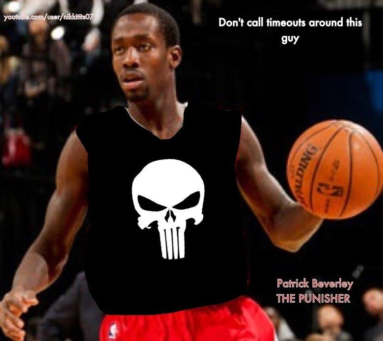 Patrick beverley the punisher. Houston rockets.