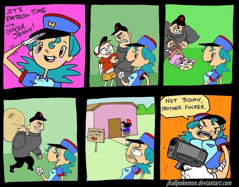Patrol Time!. by jhallpokemon.. :)