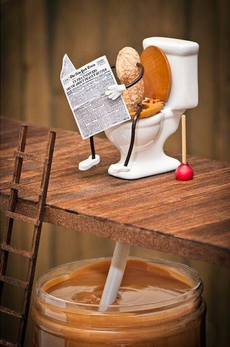 Peanut Butter. .