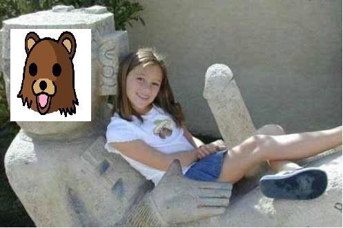 pedo statue bear