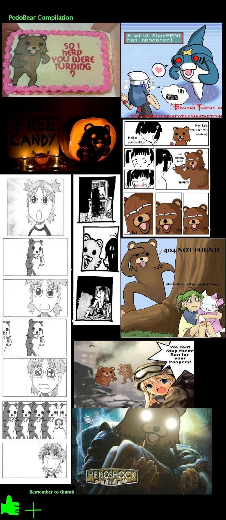 Pedobear Comp. Dont forget to THUMB +. Wu wan! nus stop them! Ru n lor your to trauma, pedobear