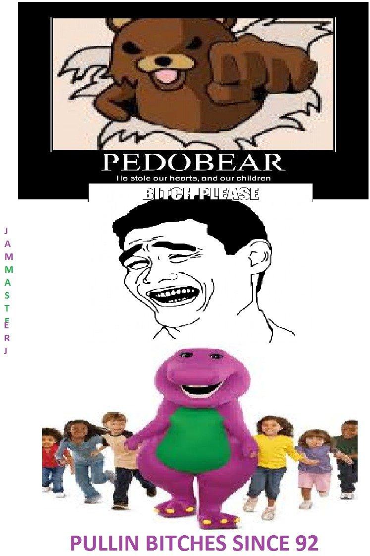 Pedosaur. You cant deny it..