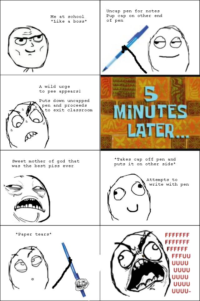Pen Cap Rage. 100% Original Content Like a baus.