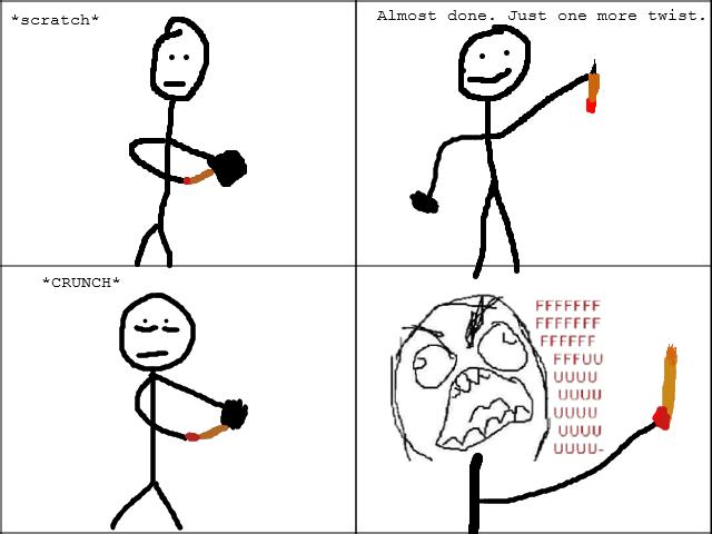 Pencil Problems. .