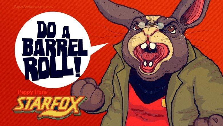 Peppy alternate art. Another Starfox alternate art.. Proceeding dump of barrel rolls. peppy alternate Art
