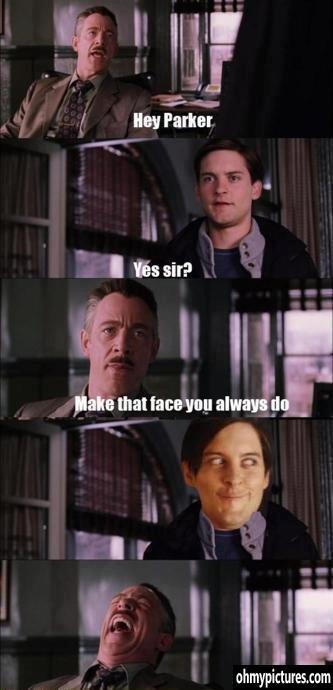 Peter Parker. .