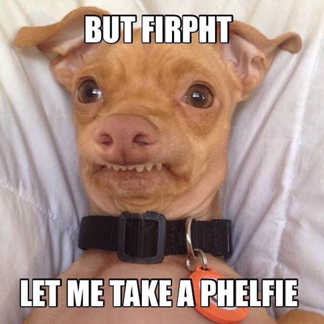 #phelfie. . tta. I don't get it