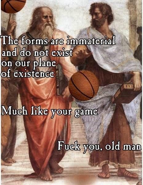 Philosophy Jam. How's this for old school?. philosophy Basketball burn