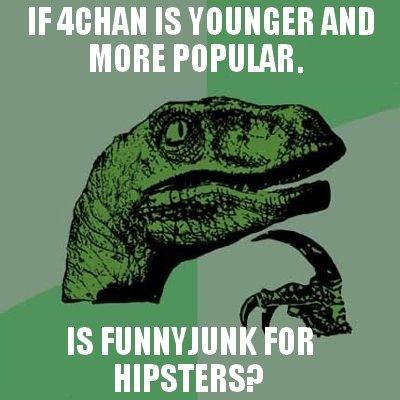 Philosoraptor. admit it.. aall IS Mill MIME POPULAR. IS FOB. .
