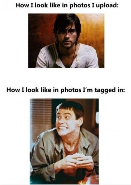 Photos. . How I look like in photos I upload: