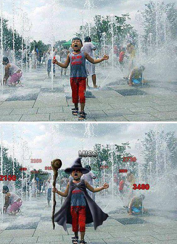 Photoshop level=Wizard. .