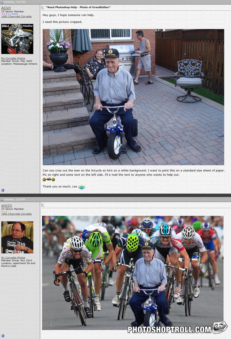 Photoshop troll. . AGVE Itll. 'Heed Help - Photo of Grandfather' ME Senior Member Li It FWS it 25: 15: it mreh. Hey' guys, I heme somepne can help. I need the p