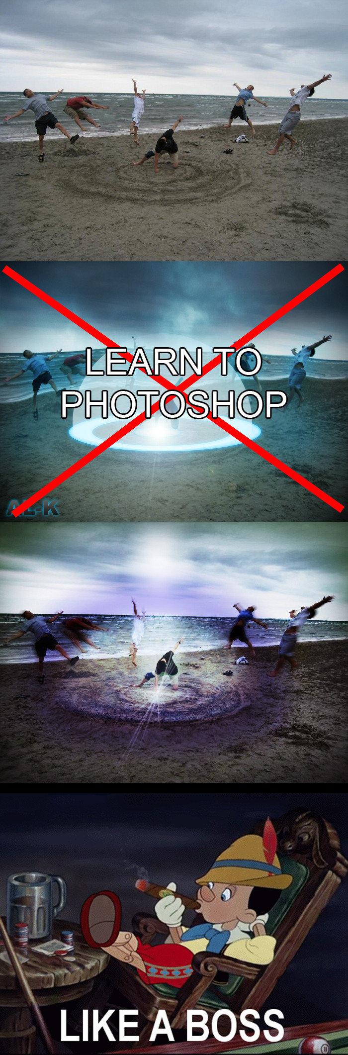 Photoshop, lik a boss. . LIKE A BOSS 'tlt?'. MS paint. nuff said