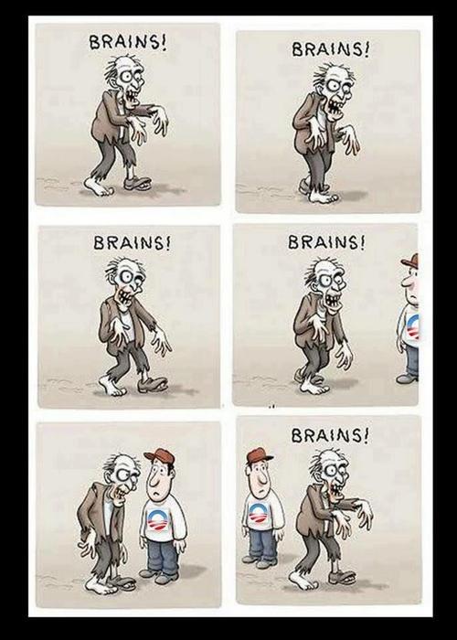 Picky zombie. .