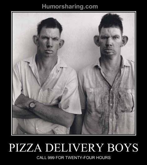 Watch Pizza delivery man gets  suprise Video   Break.com
