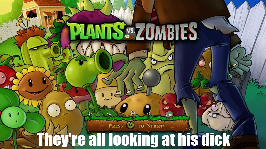 Plants vs Zombies. I'm no good at descriptions. thf' no Inga IS II: plants versus zombies