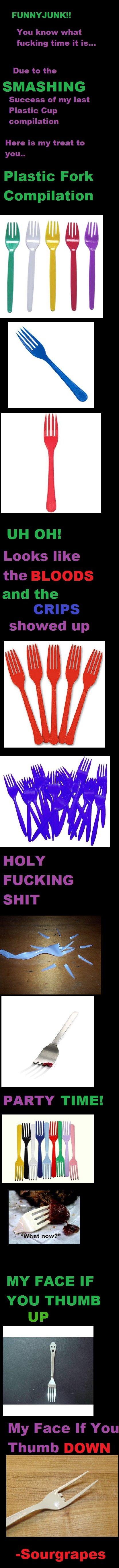 Plastic Fork Compilation. Refreshing OC for you.. I desire MOAR!!