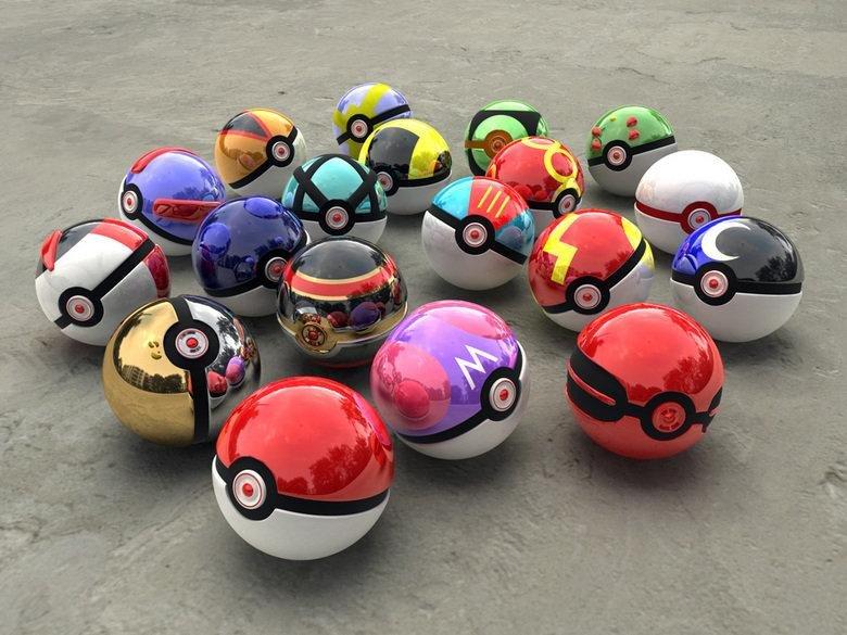 Pokeballz. Epic Balls.. Ninja photographer has no reflections.