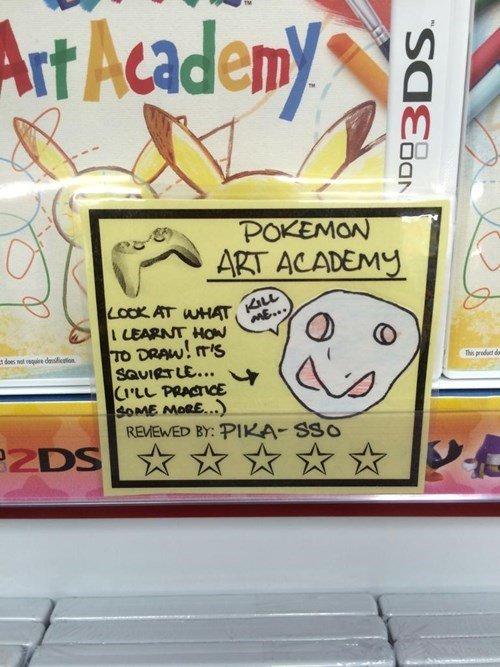 Pokémon Art Academy 12/10. .