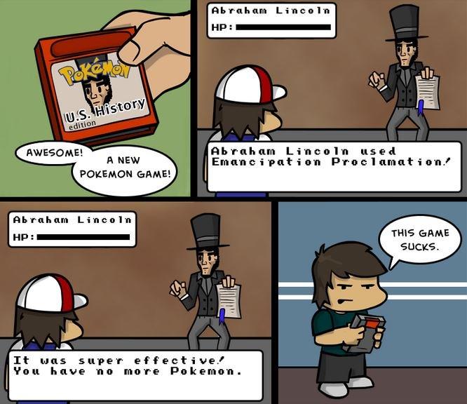 Pokemon Emancipation Version. No Slavery!.