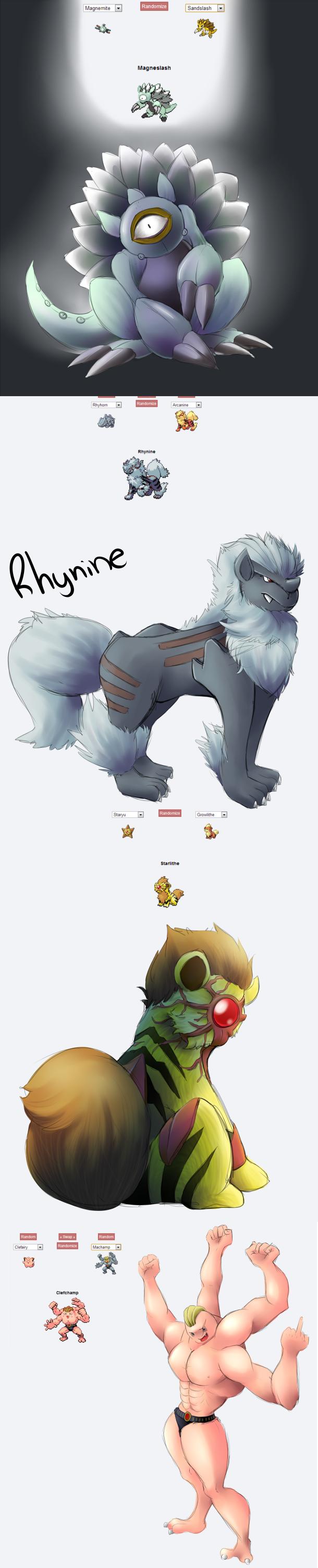 Pokemon Fusion Compilation 1. My Pokemon Fusion compilations so far. Which is your favorite? ^^ Art by me.. pokemon fusion Art Pokemon OC