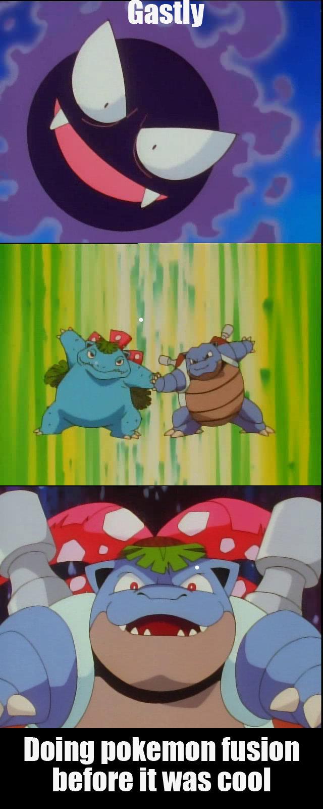 Pokemon fusion. Pokemon S01E20. It was pokemon fusion g