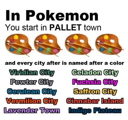 Pokemon Kanto Colors. .. 16 years late bud