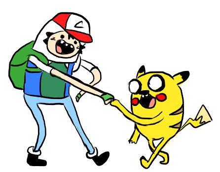 Pokemon Adventure Time. PIKACHU, IT'S ADVENTURE TIME!!!.. Seems Legit like a Boss Pokemon Adventure Time the game lolol