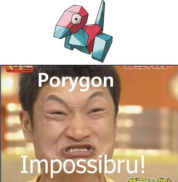 Pokemon. IMPOSSIBRU!.