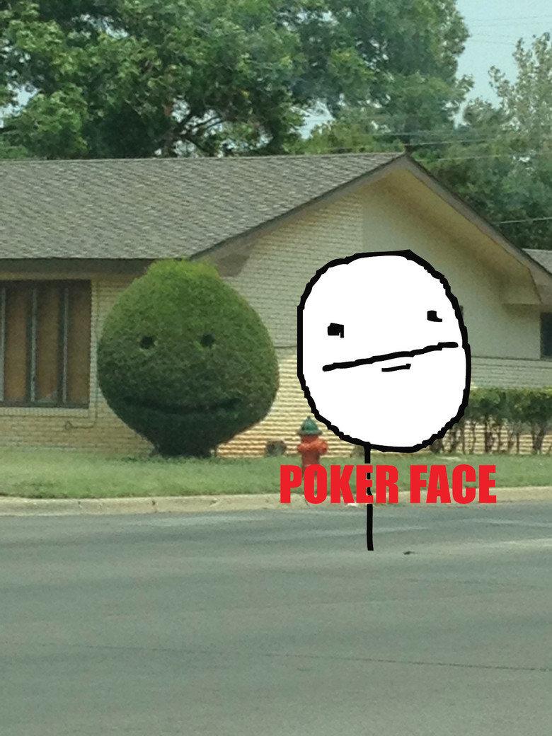 Poker Face. .