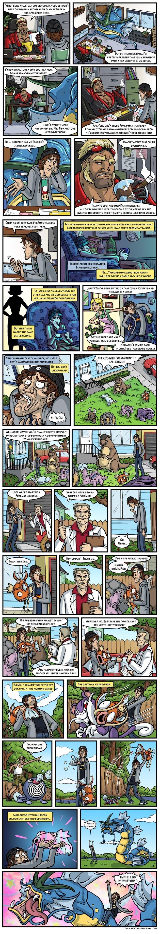 pokeymans. probably a repost.. Repost, but it's funny still. Pokemon funny