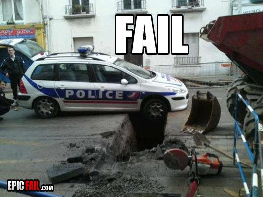 Police Fail. . ma mm Jil',. rollx 9