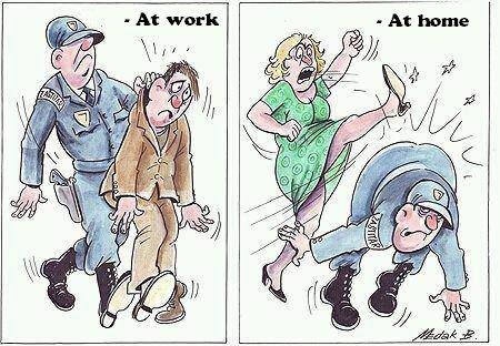 Policeman. Source: www.facebook.com/GloriousMind.