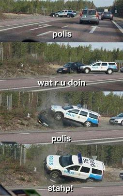 Polis Pls. Not Mine.. iii
